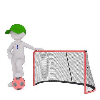 Dziecięca bramka do piłki nożnej