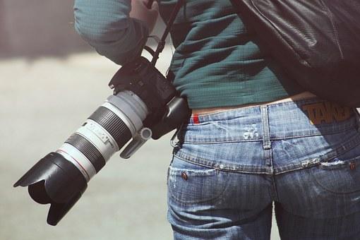 Wybór znanego fotografa