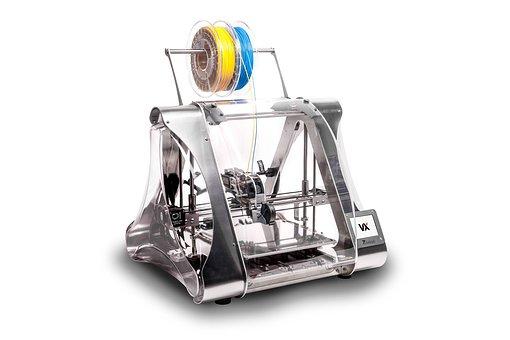 Proces druku trójwymiarowego