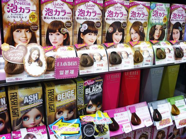 profesjonalne farby do włosów