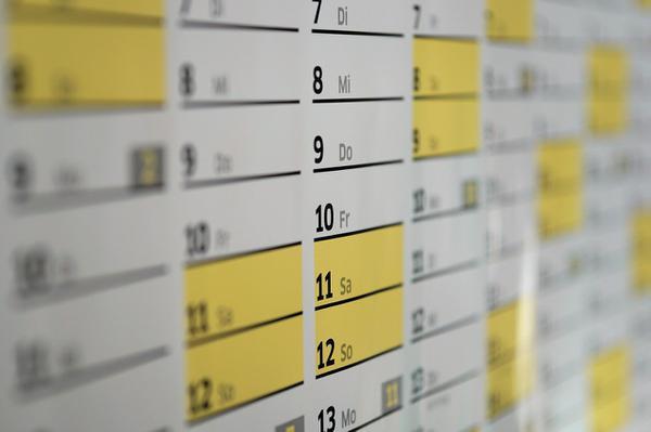 Jakie rodzaje kalendarzy wyróżniamy?